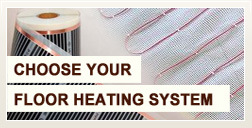 choose floor heating system
